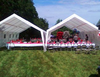 Tent Rental 20x20 & Rafaelu0027s Party Rentals - Bouncers Jumpers Tents Tables Chairs ...