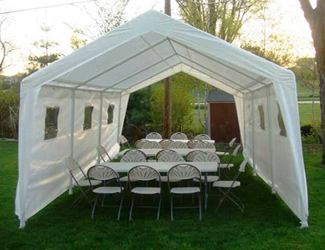 Tent Rental 10x20 & Rafaelu0027s Party Rentals - Bouncers Jumpers Tents Tables Chairs ...